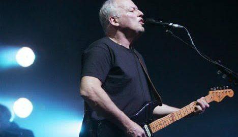 David Gilmour zagra w Circus Maximus