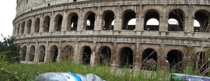 Śmieci w Rzymie