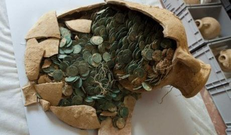 Monety rzymskie odkryte w Hiszpanii