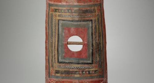The only surviving Roman scutum from Dura-Europos in Syria