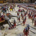 Armia rzymska zrobiona z klocków