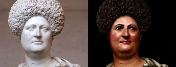 Roman woman from the Flavian era