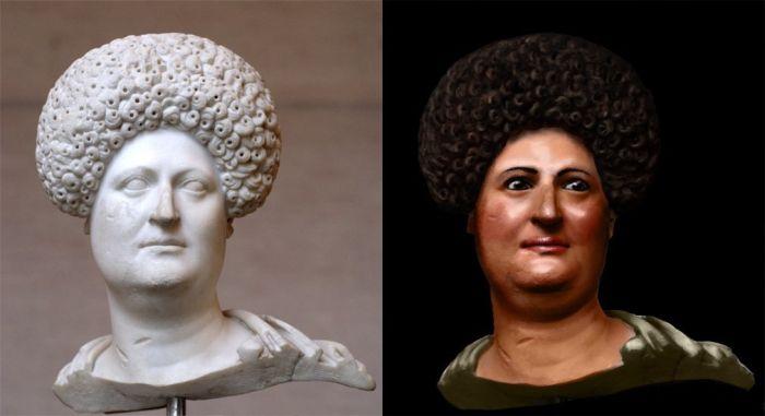 Kobieta rzymska z czasów flawijskich