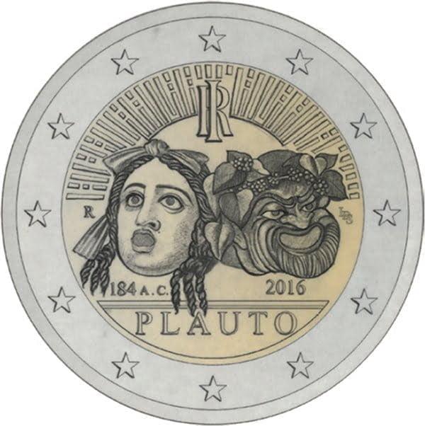 Moneta na uczczenie 2200 rocznicy śmierci Plauta