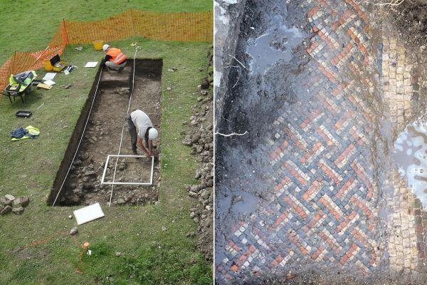 Przypadkiem odkryto rzymską willę w Wiltshire