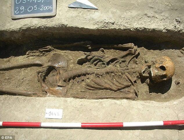 Rzymski robotnik umierał przed 30-tką