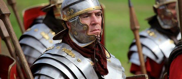 Rzymski obóz w Brytanii