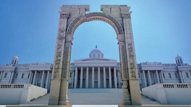 Łuk triumfalny z Palmyry w Londynie