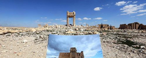 Świątynia Bela zniszczona