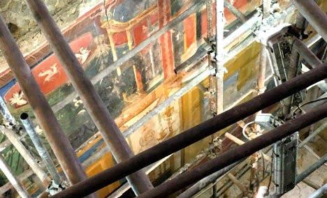 Rzymska willa pod Amalfi otwarta
