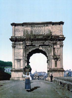 Rzym na pocztówkach z około 1890 roku