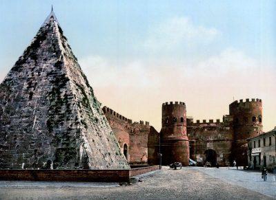 Piramida Cestiusza z 1890 roku