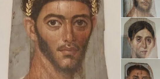 Portraits of Roman mummies