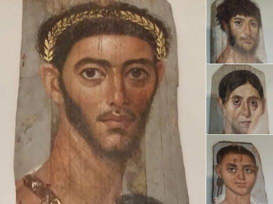 Roman funerary portraits