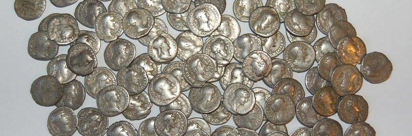 Grillował i znalazł rzymski skarb