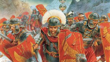 Who could serve in Roman legions?