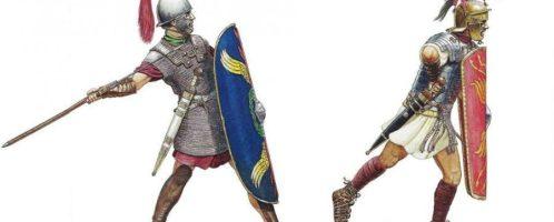Augustus legionaries