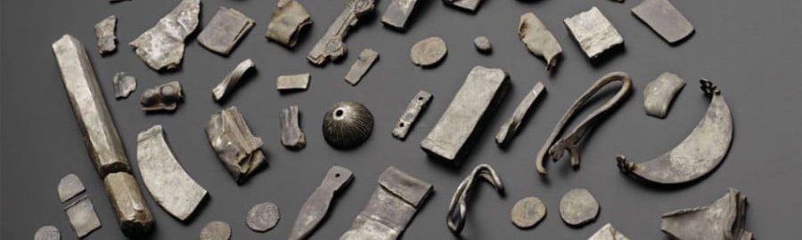 100 srebrnych przedmiotów z czasów rzymskich