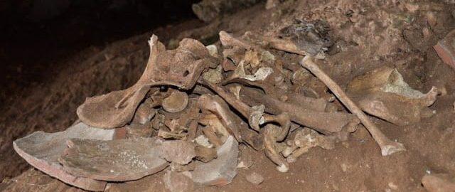 Turyści natrafili na szkielet rzymskiego dziecka