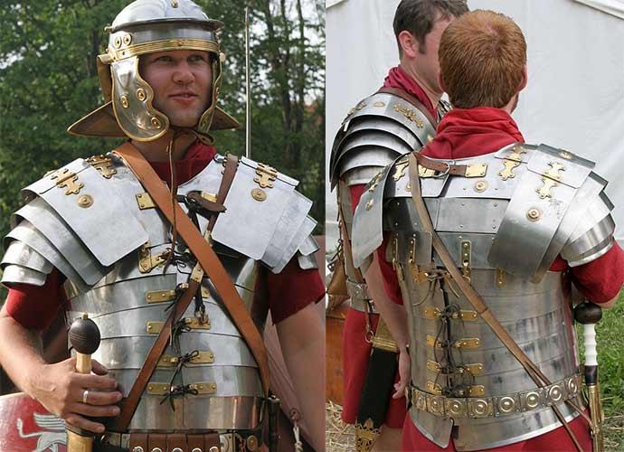 3 kluczowe pancerze rzymskie
