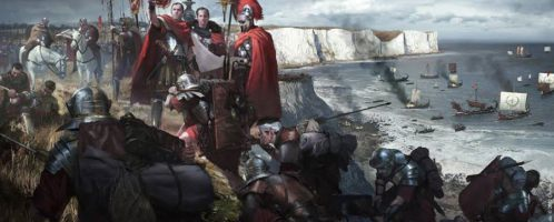 Czemu Cezar najechał Brytanię?