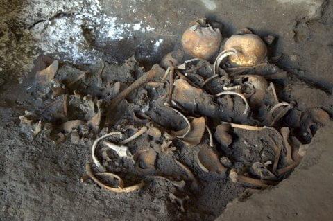 W Pompejach natrafiono na szczątki czwórki nastolatków z czasów rzymskich