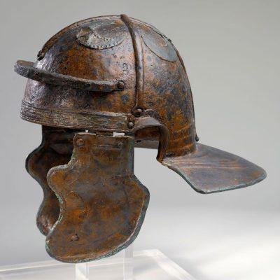 Preserved imperial-Italian helmet