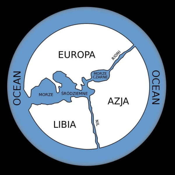 Probable reconstruction of the Anaximander map