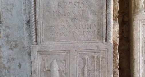 Stele of a Roman archer