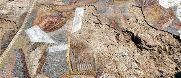 Rzymska mozaika w Turcji