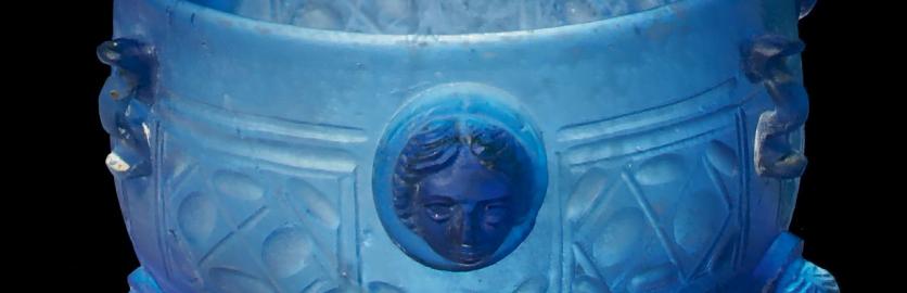 Roman glass cup