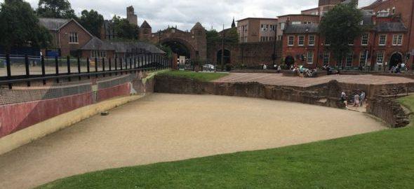 Pod znakiem zapytania dalsze wydobywanie amfiteatru w Chester