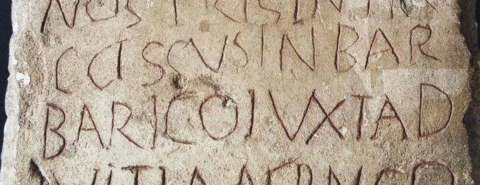 Viatorinus' tombstone