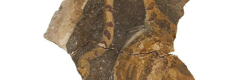 Rzymski fragment fresku odkryty w Izraelu