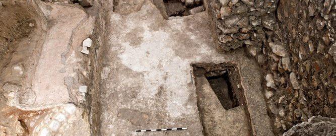 Rzymskie termy odkryte pod współczesną mykwą
