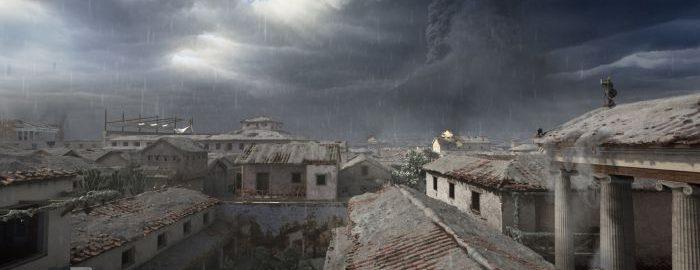 Vesuvius eruption animation