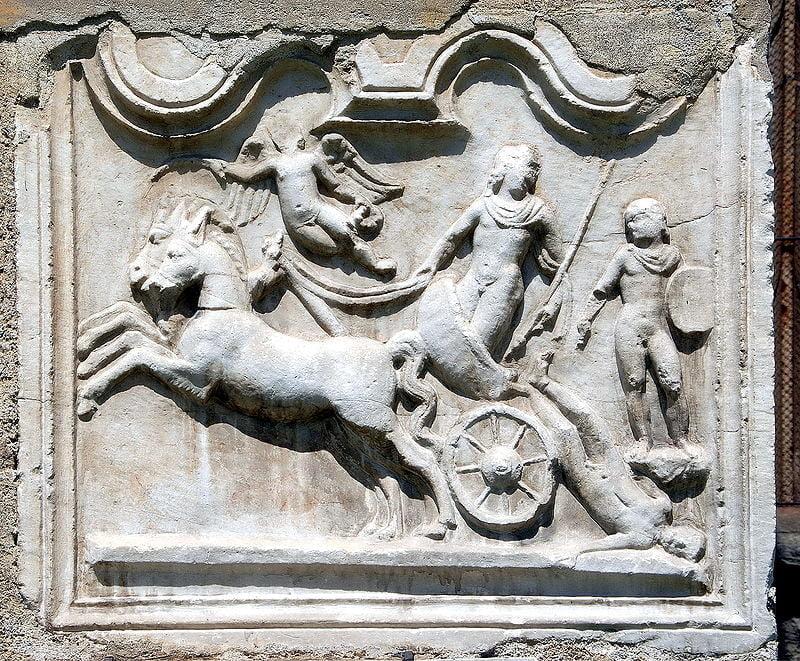 Rzymski relief ukazujący Achillesa