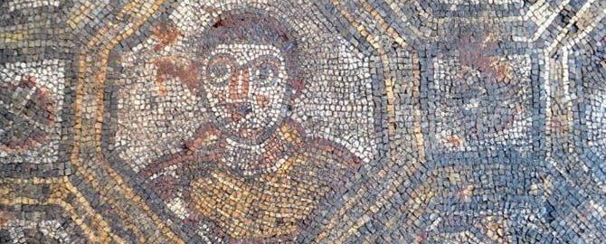 Rzymska mozaika w Toskanii