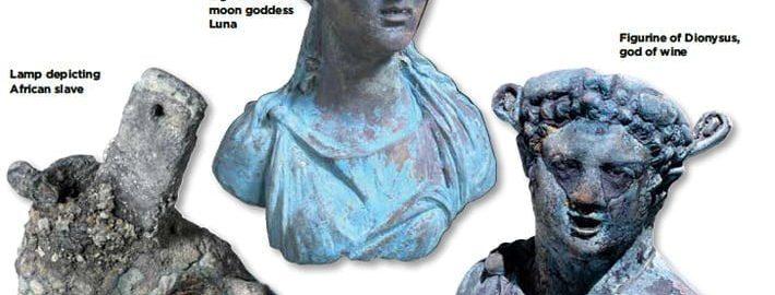 W wodach portu Cezarei odkryto ciekawe znaleziska