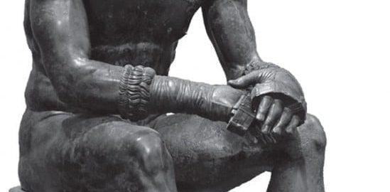 Odpoczywający bokser rzymski