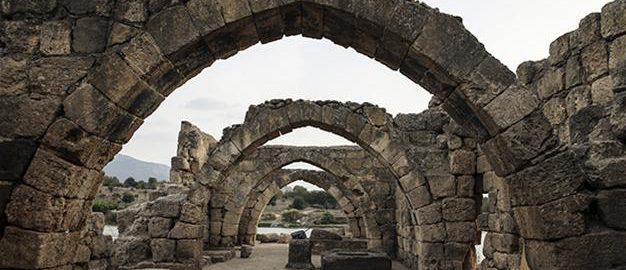 Rzymskie wiatraki z Misis