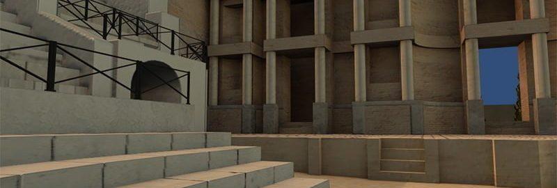 Wirtualne zwiedzanie Wielkiego Teatru w Pompejach