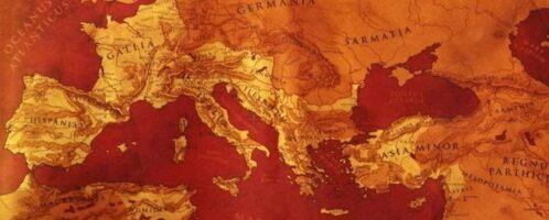 Mapa Imperium Rzymskiego