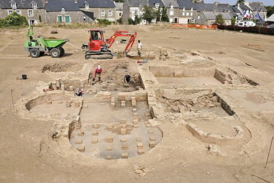 Odkryto wielką rzymską willę w Bretanii