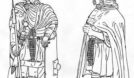 Roman winter clothes