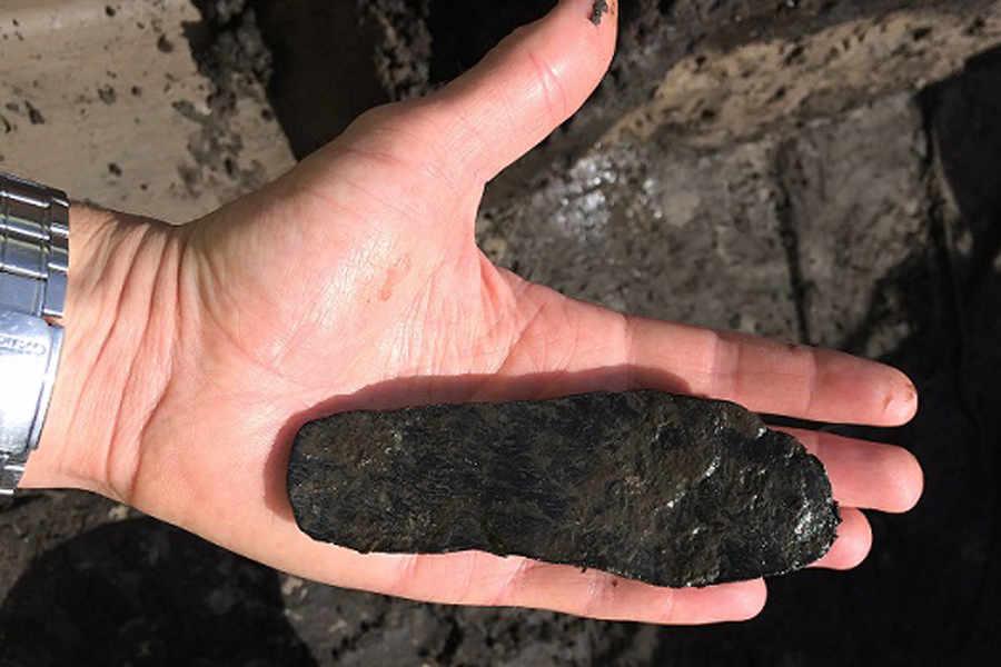 Podeszwa buta dziecięcego z czasów rzymskich