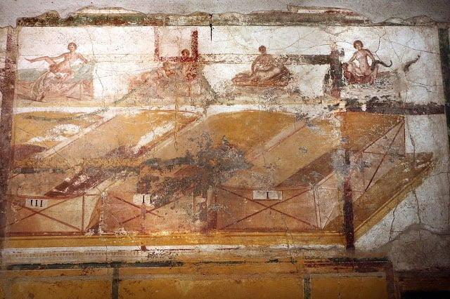 Odsłonięto erotyczne freski w Pompejach