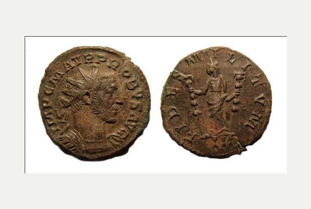 Odkryto ponad 2000 obiektów rzymskich na polu w Barlaston