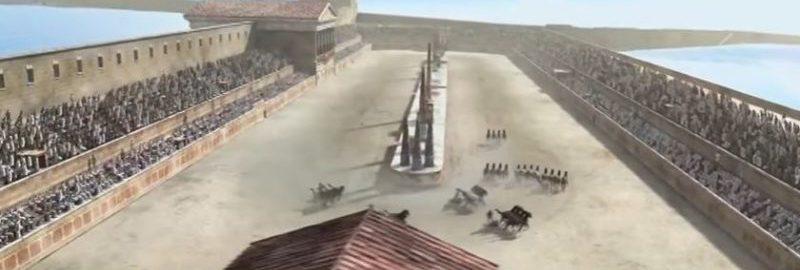 Fantastyczna rekonstrukcja cyrku rzymskiego w Tarragonie