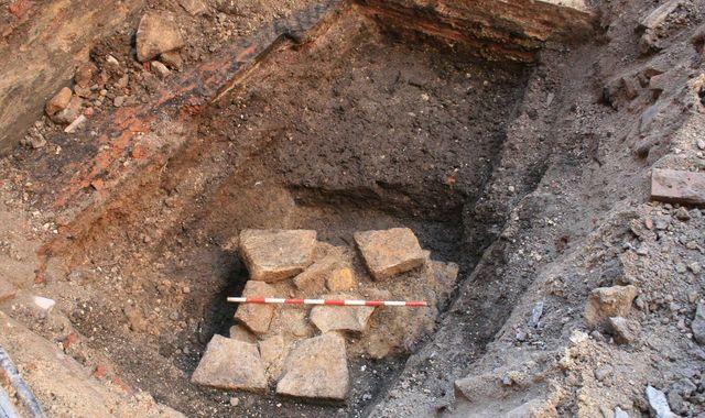Odkryto rzymski mur pod hotelem w York
